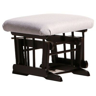 Dutailier Ultramotion Ottoman for Sleigh or 2 Post Glider- Espresso Finish and L