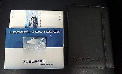 Subaru Legacy & Outback Owner's Manual 2003-2009