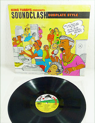 KING TUBBYS presents SOUNDCLASH Dubplate Style - Jamaica VA LP M-/EX 80s