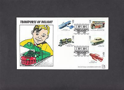 2003 Transports of Delight Memory Lane Stick with Stamps Official FDC. 1 of 100