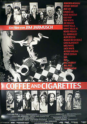 Coffee and Cigarettes - Jim Jarmusch - Filmposter A1 84x60cm gerollt