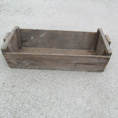 Vintage Taylor Wine NY Wood Grape Picking Box Crate