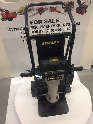 Jack Hammer Breaker New Stanley BRE60111 Electric Pavement Used