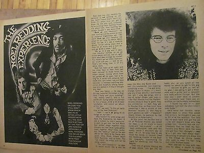 Jimi Hendrix, Three Page Vintage Clipping