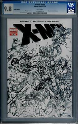 Marvel Comics X-Men (1991 Series) # 188 Sketch Variant CGC 9.8 NM/MT