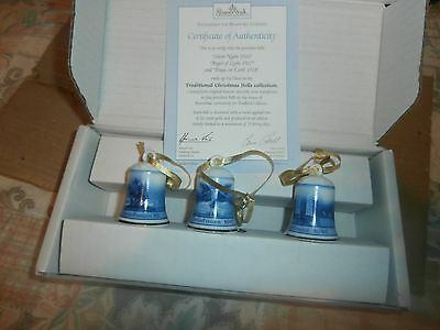 Rosenthal Traditional Christmas Bells 1916 /1917/1918  As Shown In Picture Below