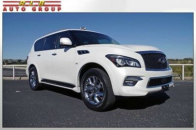 2015 Infiniti QX80 Sport Utility 2015 QX80 Immaculate One Owner Full Factory Warranty Simply Like New!