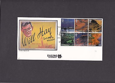2004 Wales Classic Films Hitchcock Blackmail Cambridge SC Official FDC. 1/15