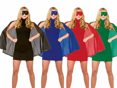 Super Hero Cape Adults Fancy Dress Capes Fancy Dress Accessory