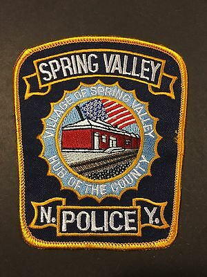 Spring Valley New York  Police Shoulder Patch