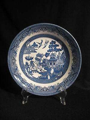 Churchill England Blue Willow Round Vegetable Bowl