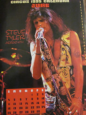 Aerosmith, Steven Tyler, Stone Temple Pilots, Double Full Page Vintage Pinup