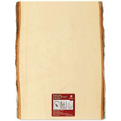 Basswood Country Rectangle Plank-11 Inch to 13 Inch X 16 Inch 046308035207