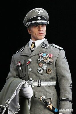 Action Figure 1/6 DID Hans - Figurine 12 pouces Dragon Very Hot 3R SOldier Story