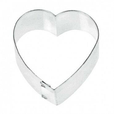 "Fox Run 2.5"" Cookie Cutter Heart Shaped Biscuit Sandwich Donut Mold For Baking"