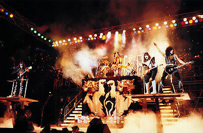 Kiss Alive Ii Poster Side Stage 24X36