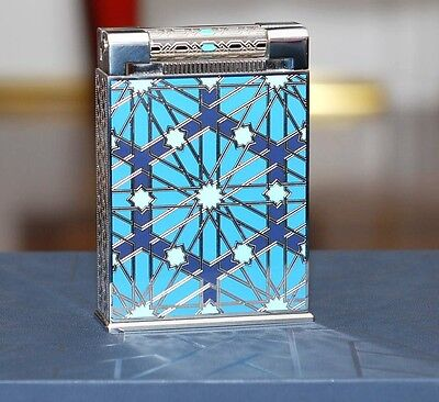 St Dupont Andalusia Jeroboam Table Lighter, Platinum