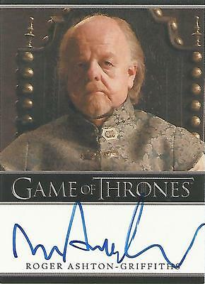 "Game of Thrones Season 4 - Roger Ashton-Griffiths ""Mace Tyrell"" Autograph Card"