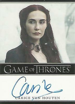 "Game of Thrones Season 5 - Carice Van Houten ""Melisandre"" Autograph Card"