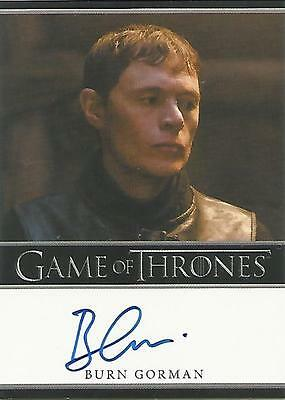 "Game of Thrones Season 4 - Burn Gorman ""Karl Tanner"" Autograph Card"