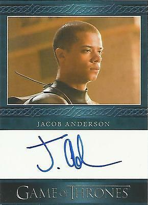 "Game of Thrones Season 5 - Jacob Anderson ""Grey Worm"" Autograph Card"