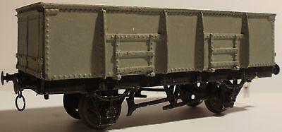 Finescale ex-GWR loco coal wagon, OO gauge, could be converted to EM gauge