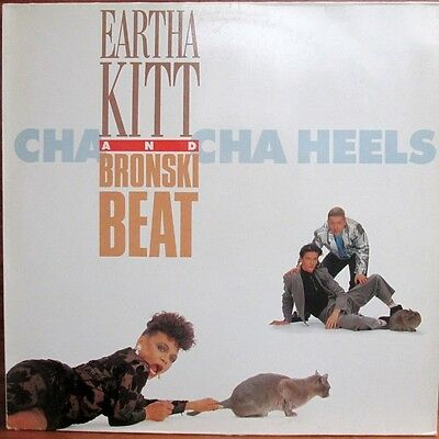 Maxi-Single  -  Earth Kitt And Bronski Beat  = Cha Cha Heels  / My Discarded Man