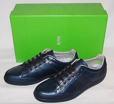 NEW mens blue HUGO BOSS trainers shoes size UK 8