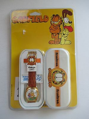 Vintage Armitron Musical Garfield Watch Nos Mint In Sealed Package 1999