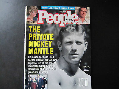 People Magazine - August 28, 1995 -_ Mickey Mantle