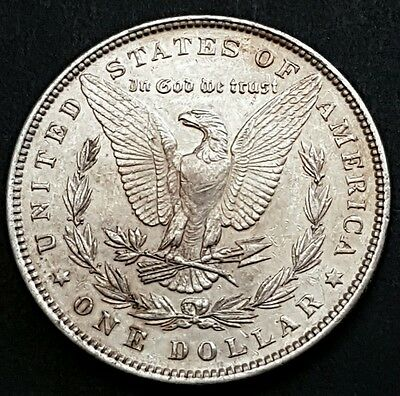 1896 .900 Silver Morgan Dollar Good  Grade  Very Collectable
