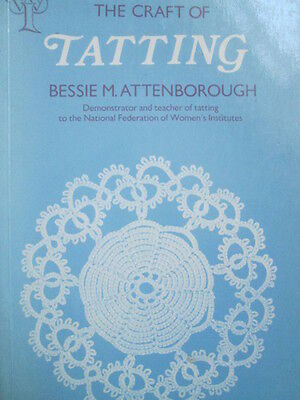 The Art Of Tatting Pattern Book Techniques Instructional Edgings, Mats, Bags +