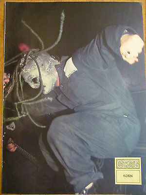 Corey Taylor, Shawn Crahan, Slipknot, Double Full Page Vintage Pinup
