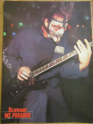 James Root, Chris Fehn, Slipknot, Double Full Page Vintage Pinup