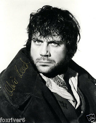 OLIVER REED Signed Photograph - Film Actor - preprint