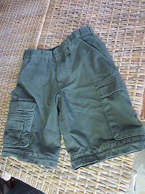 OFFICIAL BOY SCOUT uniform OLIVE GREEN cargo convertible SHORTS boys Youth 10