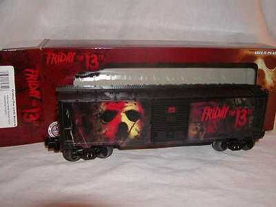 Lionel 6-82349 Halloween Friday the 13th Jason Voorhees Box Car MIB New 2015