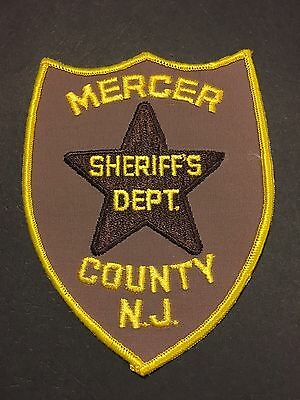 Mercer New Jersey  Sheriff Shoulder  Patch