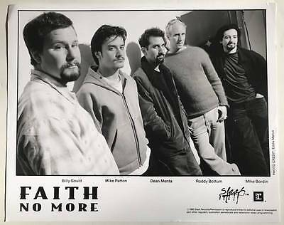 FAITH NO MORE 8x10 Publicity Photo 1995 XLNT Condition