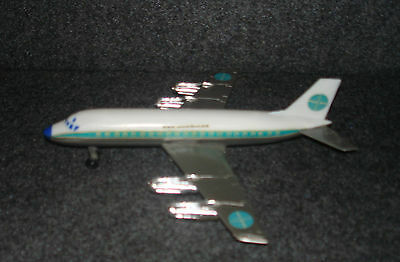 Vintage Toy DC -Fan Jet Friction Powered Pan american In Box