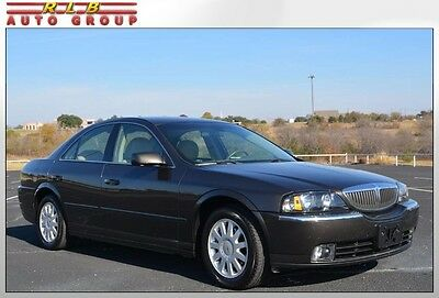 2005 Lincoln LS Sedan w/Appearance Package 2005 Lincoln LS One Owner 50,000 Original Miles One Of A Kind Nice Car!