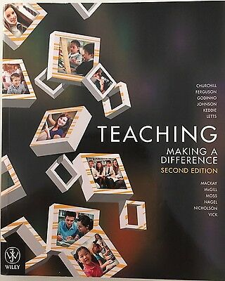 Teaching Making a Difference, 2E by Churchill (Paperback, 2013)