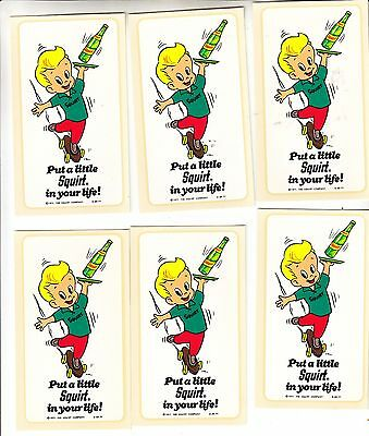 PUT A LITTLE SQUIRT IN YOUR LIFE WATER DECAL ( 12 PIECES)  Manufactored 1977 NOS