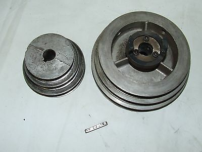 Ammco 4000 4100 Brake Lathe Three Speed Step Drive Pulley Set 7784 3024