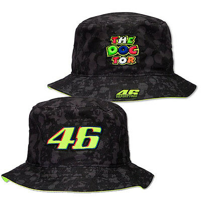 Valentino Rossi Vr 46 The Doctor Mens Ladies Adults Bucket Hat 2016 Hat Headwear