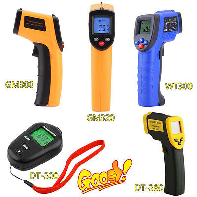 8 Type Non-Contact LCD IR Laser Infrared Digital Temperature Thermometer Gun UR