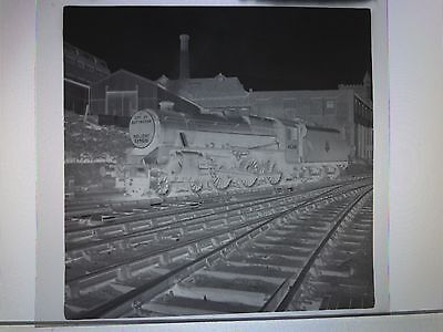 C1950/60's Steam Train City Of Nottingham  45260 Holiday Express Photo Negative