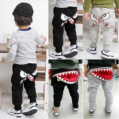 Boys Kids Toddlers Clothes Harem Pants Loose Trousers Girls Sweatpants Bottoms