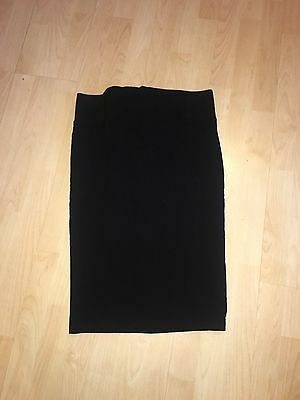 ASOS MATERNITY Gorgeous Black Fitted Pencil Skirt 12 GREAT CONDITION