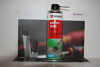 WURTH RUST REMOVER ROST OFF BLACK 500ml CAN. New Product From Wurth.